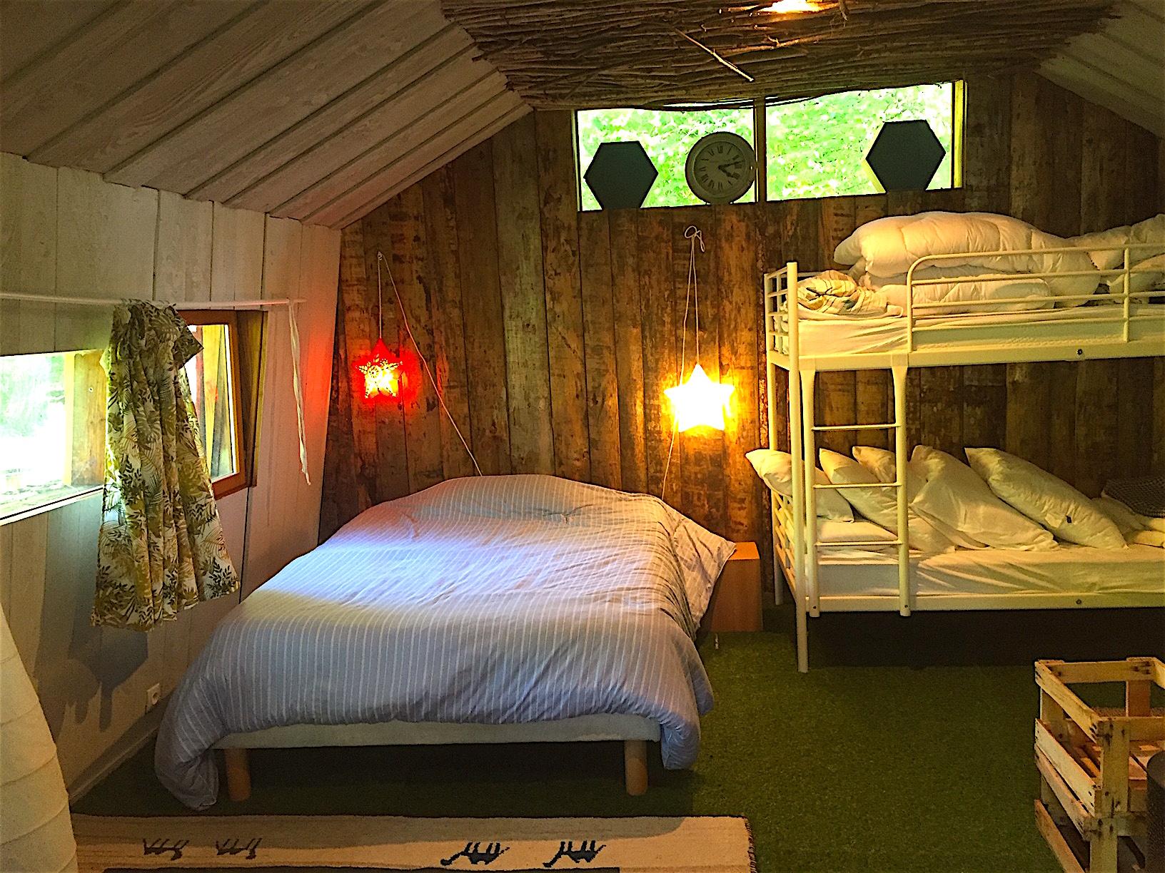 intérieur cabane Myrtille